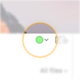 A screenshot of the Server Button in the CodeKit window